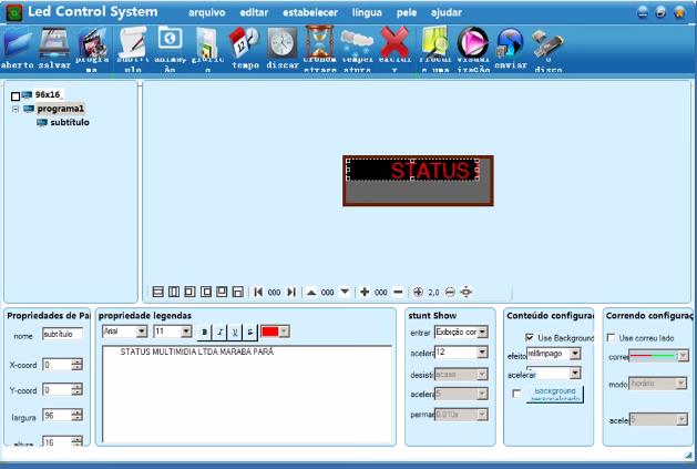 Programa para letreiros Led Control System V3 32 Download